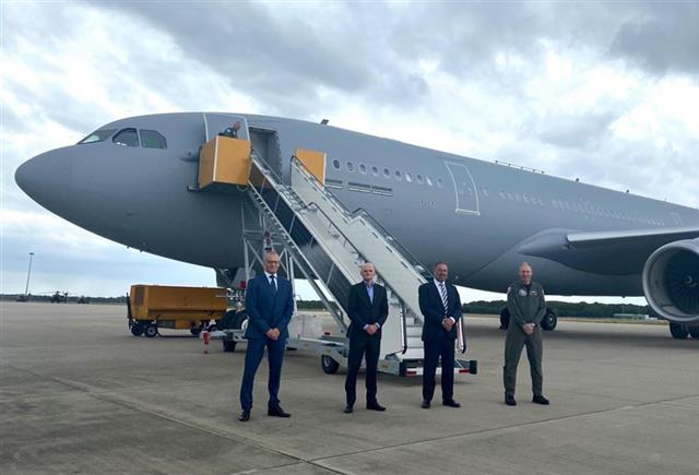 First MMF aircraft arrives in Eindhoven Main Operating Base