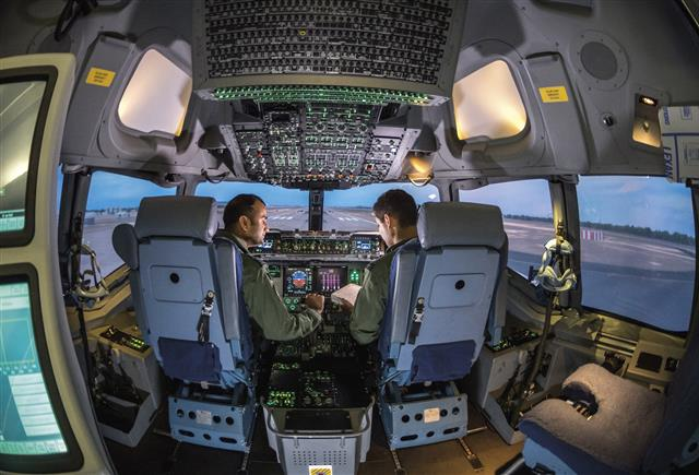 NATO Airlift Management (NAM) Program expands C-17 training capability with Boeing services contract